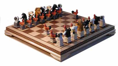 farm chess set