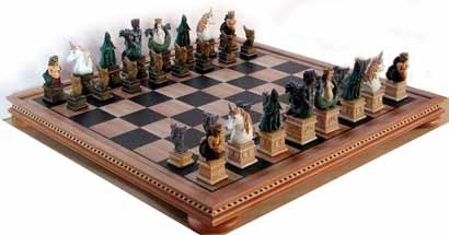 mythical beasts chess sets